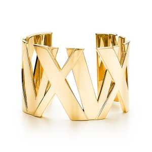 Tiffany and Co Atlas Gold Cuff
