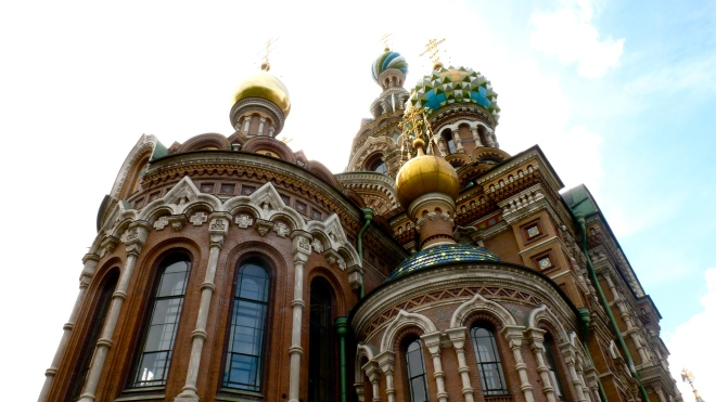 Church on the Spilled Blood Saint Petersburg Russia