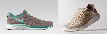 Nike, $185; Adidas by Stella McCartney, $160