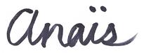 Anais Ortiz signature