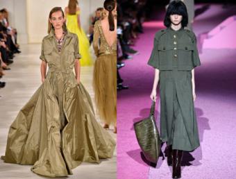 Left: Ralph Lauren; Right: Marc Jacobs