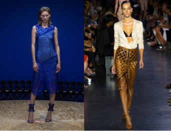 Left: Reed Krakoff; Right: Altuzarra
