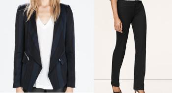 Zara, $129; LOFT, $69