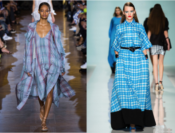Left: Stella McCartney: Right: Emanuel Ungaro
