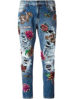 MarcoBolognaEmbroideredJeans